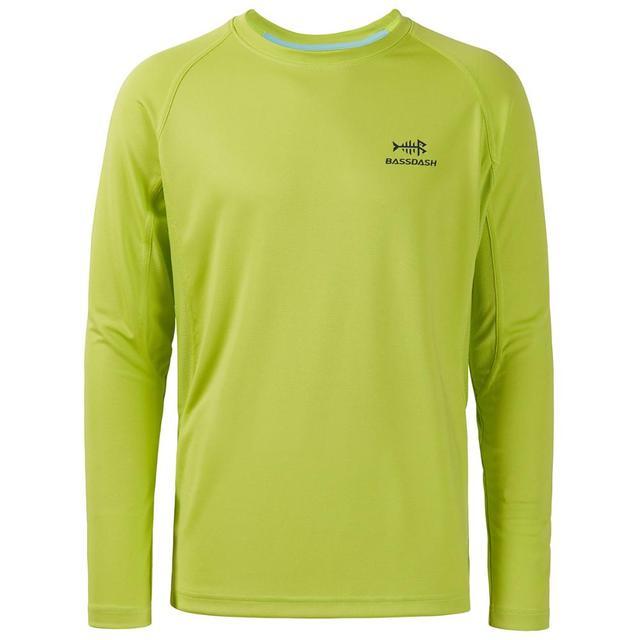 Details about  /Bassdash UPF 50 Men's Light Sweatshirt Vented Long Sleeve Fishing Shirt Tee New