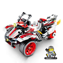 Toys For Children Motorcycle Simulation Model Kit Compatible Legoing DIY Assembled Educational Building Blocks Brick Kid New O18 цена в Москве и Питере