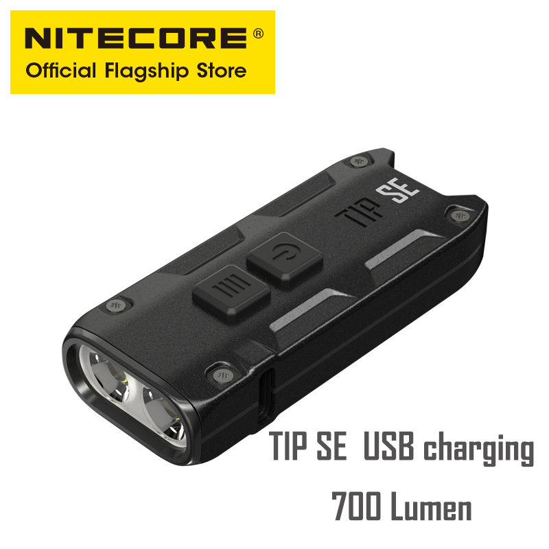 NITECORE TIP SE mini 700 lumen bright light highlights portable EDC emergency small flashlight