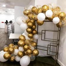75 шт., Металлический воздушный шар, золотой воздушный шар