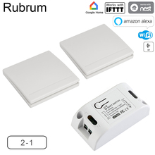 Rubrum RF Wifi Wireless 433MHz Relay 1 CH 220V Receiver Smart Home Switch