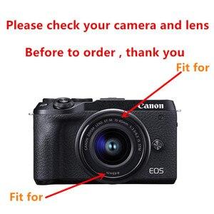 Image 2 - LimitX housse Portable en néoprène souple et étanche pour appareil photo intérieur pour Canon EOS M200 M100 M10 M6 M3 avec objectif 15 45mm seulement