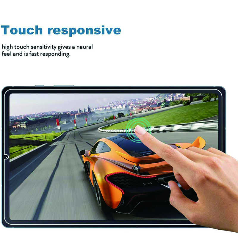 Temperli cam Samsung Galaxy Tab için S6 lite ekran koruyucu Anti-Scratch koruyucu cam için Galaxy Tab S6 lite 10.4 cam