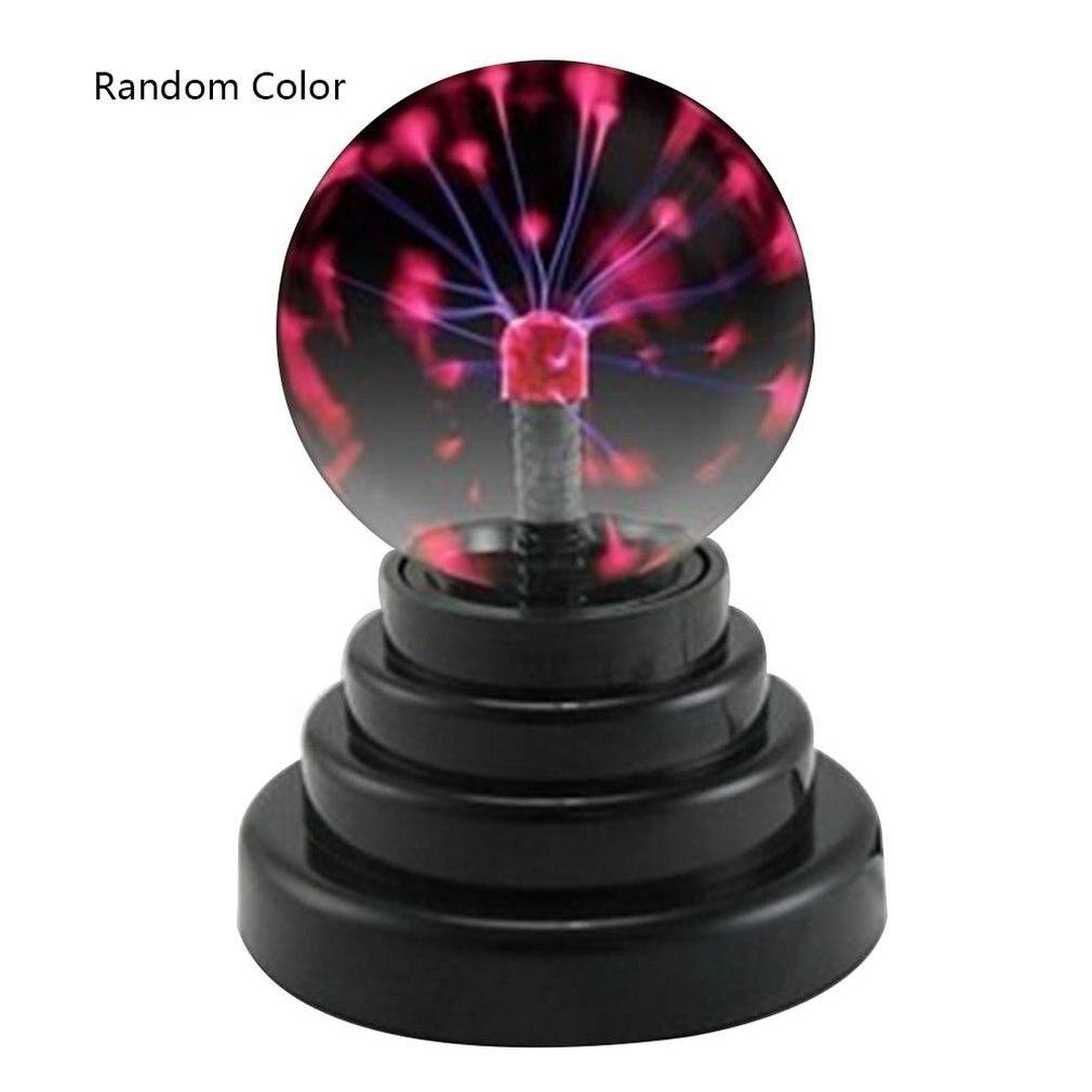 USB Plasma Ball Electrostatic Sphere Light Lamp Ball Desktop Lightning Christmas Party Touch Sensitive Lights