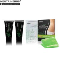 Neutriherbs Body Applicator Skin Tightening, Firming Cream It Works to Stretch Marks Removal Weight Loss 5 Wraps + 2 Free Gel