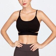 Yoga Shirt Cross Back Running Sport Shirt Push Up Sports T-shirt Sexy Bra Gym T-Shirt For Women Fitness Shirt Female Gym Fitness grommet lace up t shirt