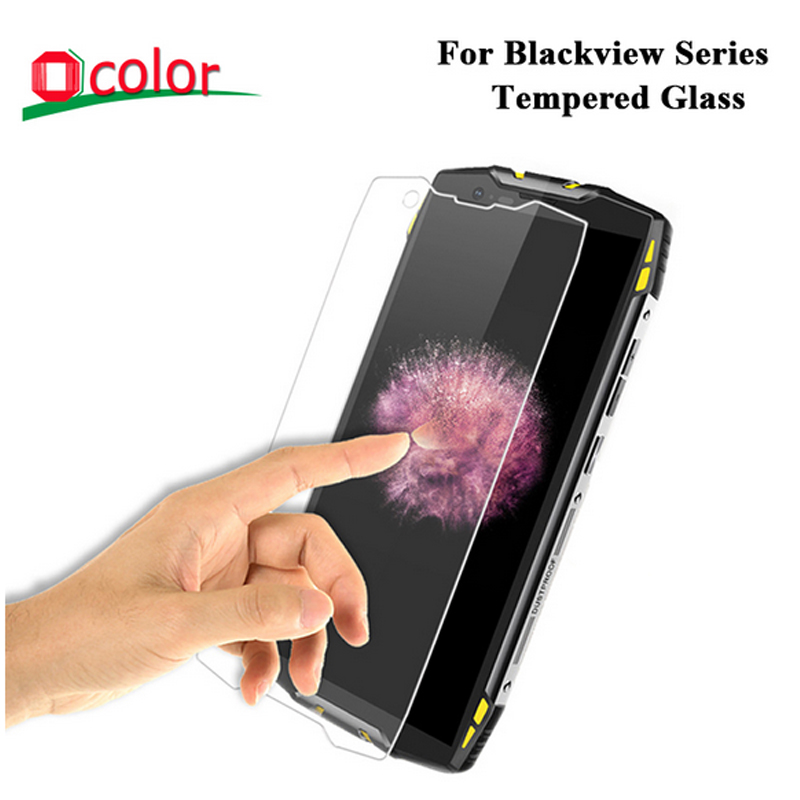 ocolor For Blackview BV6800 Pro BV9800 BV8000 Pro Tempered Glass For BV5500 BV9000 BV6100 Max 1 X18 Plus Protective Film(China)