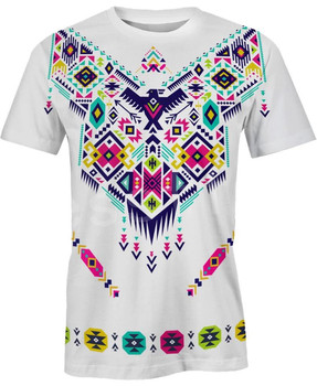 Tessffel Indian Native culture Harajuku Casual Colorful Tracksuit New Fashion Funny 3DfullPrint Unisex T-shirts Mens Womens s-1 1