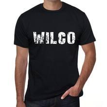 Wilco masculino vintage impresso t camisa preto presente de aniversário 00553
