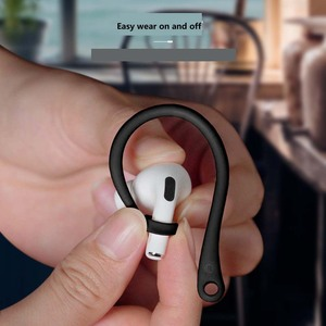 Image 3 - Anti Lost Sport EarHook For AirPods Pro Protective Case Holder For Wireless Earphone EarBuds Hooks