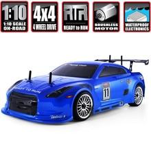 Hsp Rc Drift Auto 1:10 4wd Op Road Racing 94123PRO Flyingfish Elektrische Power Borstelloze Lipo Hoge Snelheid Hobby Afstandsbediening auto
