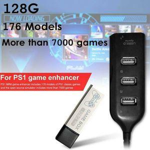 Image 5 - ילדי 128G משחק 7000 משחקי משחק Enhancer מורחב 176 מודלים עבור PS1 מיני