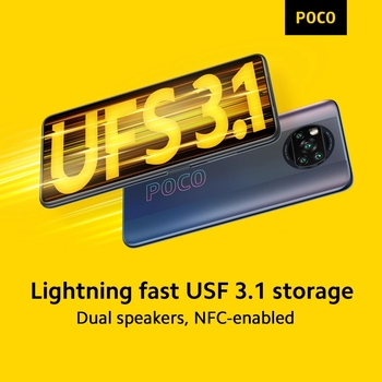 """In Stock Global Version POCO X3 Pro Smartphone NFC 33W Charge Mobile Phone Snapdragon 860 48MP Quad Camera 6.67"""" 120Hz 5160mAh 6"""