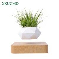 UE/US/AU/UK PLUS Air Levitation Bonsai Pot Magnetic Levitation Plant Planter Succulent Pots Plant Desk Ornaments Home Decor