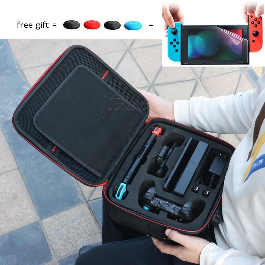 Nintendoswitch Case Nintend Switch Accessories Big Storage Carrying Bag  amp  Nitend Switch Portable Cover for Nintendo Switch Game