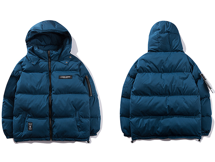 blue parka jackets mens