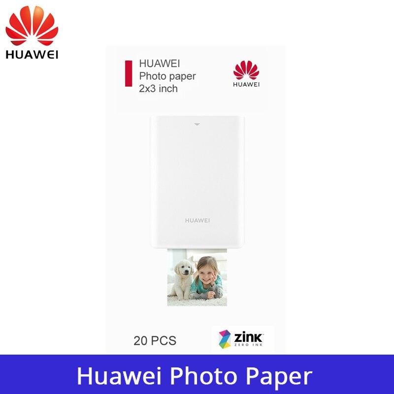 Оригинальная фотобумага Huawei Zink 2*3 дюйма для мини портативного карманного фотопринтера Huawei CV80 «сделай сам», фотобумага для печати