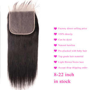 Image 4 - Big 7x7 Closure And 3 Bundles Remy Human Hair Weave Bundles With Frontal Brazilian Straight Hair Bundles With 7*7 Closure