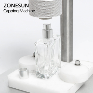 Image 3 - ZONESUN máquina de prensado Manual para Perfume, máquina tapadora a presión