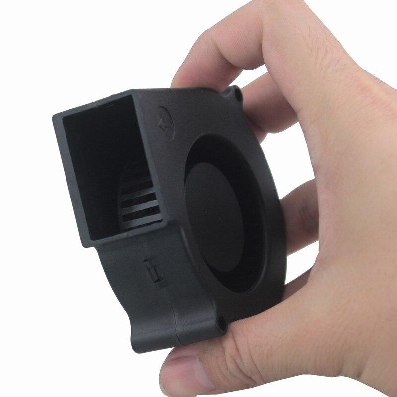 Купить с кэшбэком 1 Piece lot 5V 12V 24V 7530 7cm 75mm x 30mm 7cm 70mm DC Turbo Centrifuge Cooling Cooler Blower Fan