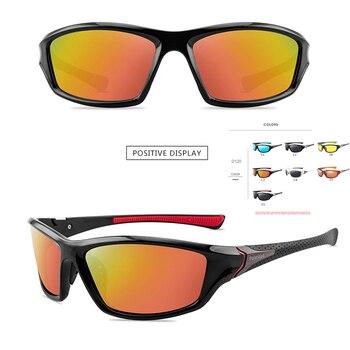 2020 Unisex 100% UV400 Polarisierte Fahren Sonnenbrille Für Männer Polarisierte Stilvolle Sonnenbrille Männlichen Radfahren Goggle Motorrad Brillen