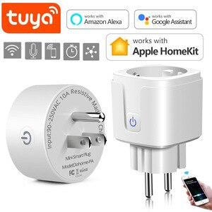 Tuya Smart WIFI LED Light Plug And For Apple Homekit Led lamp Switch House Room Smart Socket Compatible Amazon Alexa Google Home