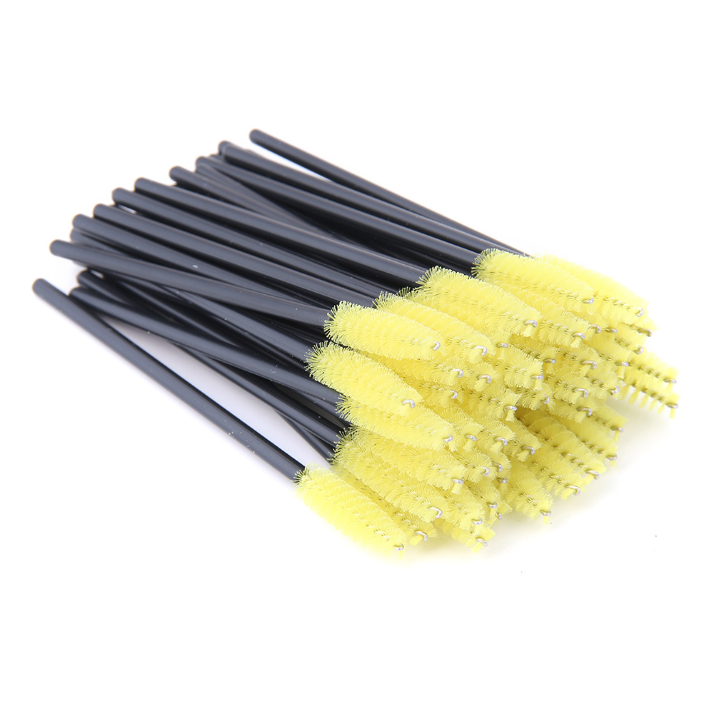 50 Pcs Eyelash Brushes Makeup Brushes Disposable Mascara Wands Applicator Eye lashes Cosmetic Brush Maquiagem Cilio Makeups Tool 3