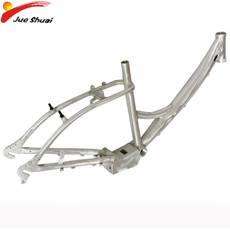 Silver <font><b>24</b></font> inch Bicycle Frame Aluminium Alloy Bike Frame for Mountain Bike MTB Road Bike Parts Accessories Bicicleta De Ruta Men image