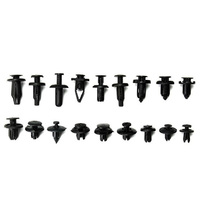 180pcs car Clips with Plastic Box Clip Removal Tool rivet fasteners made of nylon material Car liuding screw Car accessories