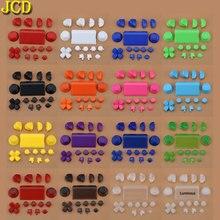 JCD 1Set controlador R2 L2 R1 L1 botones de disparo parte para PS4 2,0, controlador JDS 001 010, reemplazo de botones de juegos completos