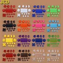Jcd 1Set Controller R2 L2 R1 L1 Trigger Knoppen Deel Voor PS4 2.0 Controller Jds 001 010 Volledige Sets knoppen Vervanging