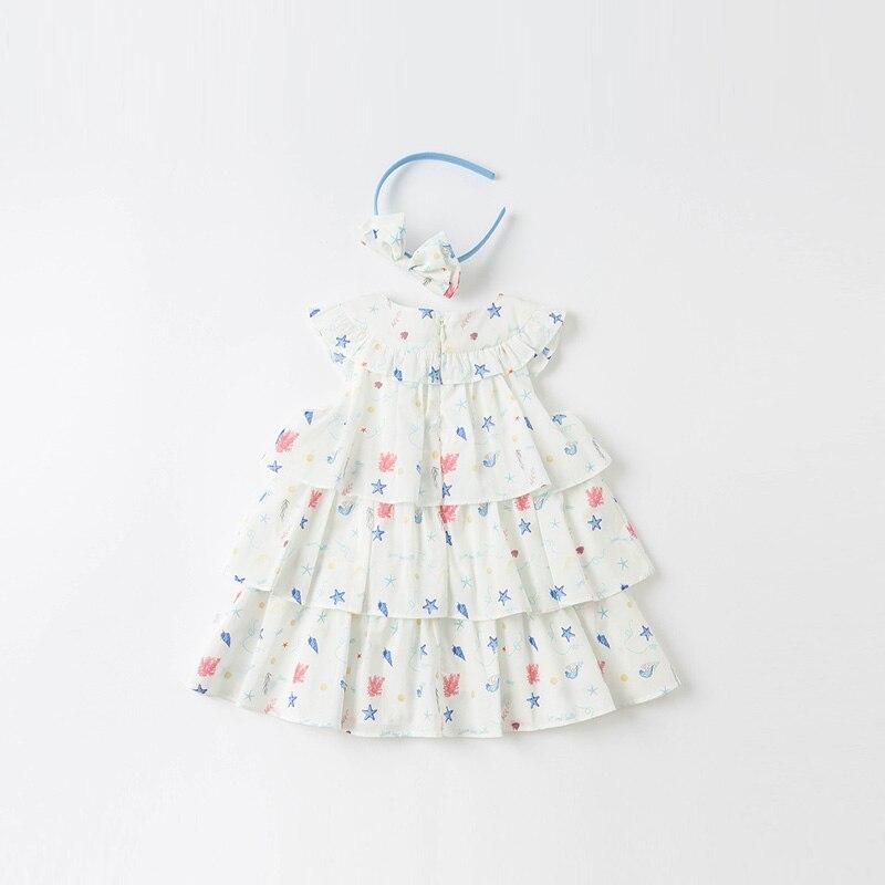 dbs16811 vestido de bebe colorido estiloso 01