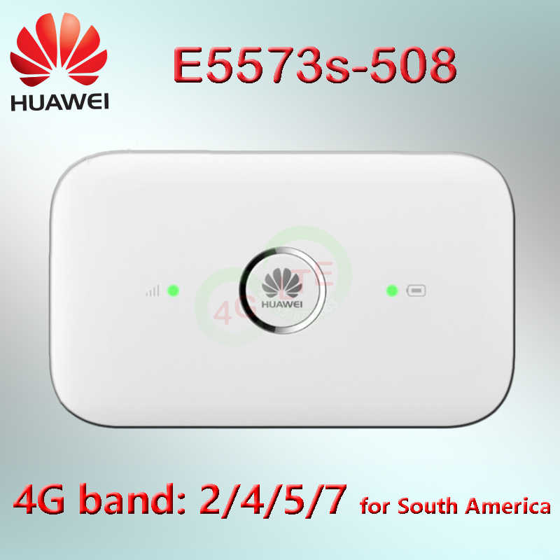 Unlocked Huawei E5573 Mifi 4G Lte Router E5573s-508 E5573fs-508 Band 2/4 4G Lte Cat4 Mobiele Hotspot 4G Wifi wifi Pocket Dongle
