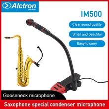 Alctron IM500 Original Instrumental condenser Microphone orchestra professional for Saxophone wind instruments trombone or Tuba цена 2017