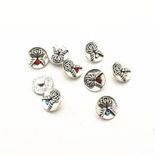 New Arrive 20pcs/lot bird metal crystal alloy button 12mm Snap Buttons Fit DIY Snap Bracelet Snap Button Charms jewelry hot selling 20pcs lot flower metal crystal alloy button 12mm snap buttons fit diy snap bracelet snap button charms jewelry