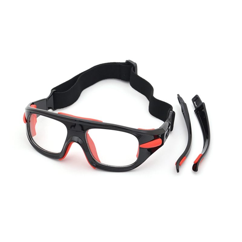 FSports Goggles Frame High Quality Adjustable Explosion-proof Windproof Dust-proof Anti-fog Soccer Basketball Safety Goggles