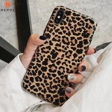 Роскошный силиконовый мягкий чехол для iPhone X, XR, XS MAX, чехол для 7, 8 Plus, 6 S, 6Plus, 7Plus, 8 Plus, задняя крышка i Phone, Леопардовый сексуальный корпус