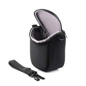 Image 3 - Su geçirmez yumuşak kamera çantası için kayış ile Canon Eos M100 M50 M10 M6 M5 M3 M2 G1Xiii G1Xii Sx530 Sx540 sx430 ve panasonic