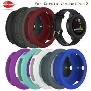 Universal Durable Protector Cover Case For Garmin vivoactive 3 Soft Silicone Protective Cover For vivoactive3 shell Watch Case