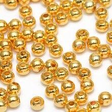 1000 шт 3X1,5 мм шар из нержавеющей стали Ювелирная Круглая Серебряная вставка, металлические бусины для рукоделия для самостоятельного изготовления ювелирных изделий браслет