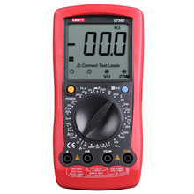 UNI-T UT58D Digital Multimeter lc Meter AC/DC Spannung Strom Tester Kapazität Induktivität Meter Kontinuität Test Digitale Tester