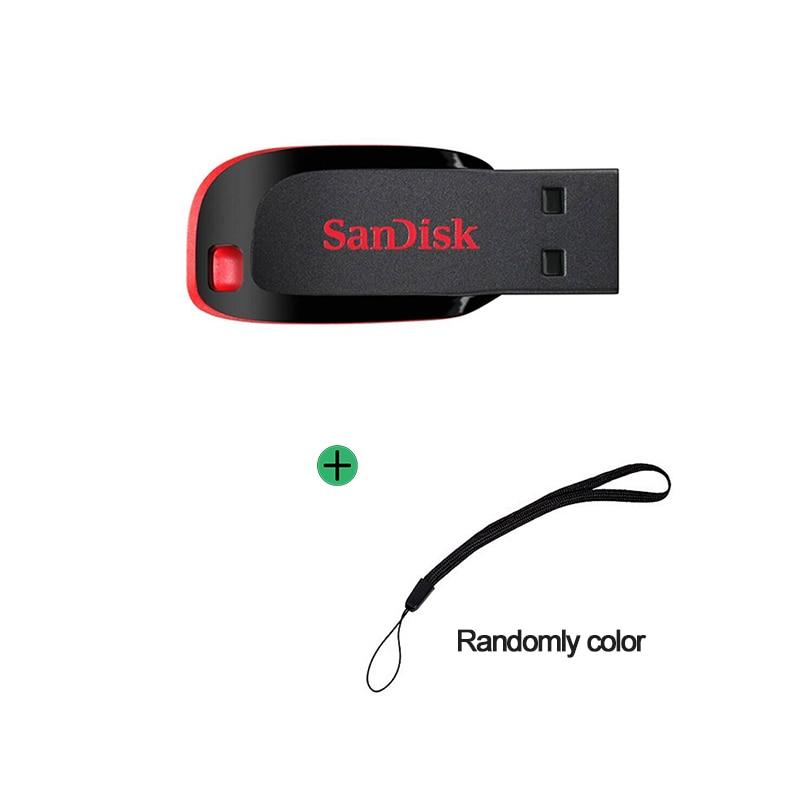Bảng giá SanDisk 100% Original Cruzer Blade CZ50 USB Flash Drive 128GB 64GB 32GB 16GB Pen Drive USB 2.0 Disk Pendrive Memory Stick Phong Vũ
