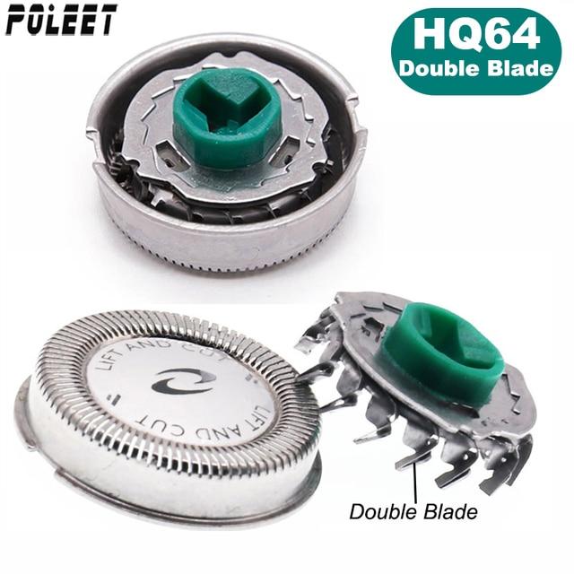 300 шт. Сменная головка для бритвы HQ64 двойное лезвие для Philips Norelco лезвие для бритвы HQ54 HQ6070 7310XL PT710 HQ7325 HQ5705 HQ6071