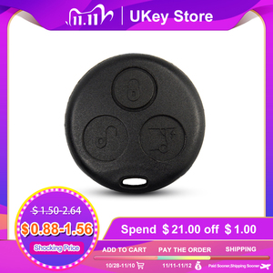 OkeyTech 3 Buttons DIY Auto Key Shell For Benz SMART Fortwo For Mercedes Benz Replacement Remote Fob Case Hot Sale With Blade