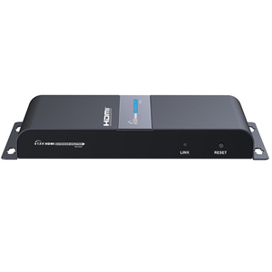 Image 3 - LKV714Pro HDMI UTP ספליטר 1X4 HDMI extender ידי cat5e/6 כבל עד 40M עם 4 מקלטי HDMI כלול + 1 HDMI לולאה החוצה