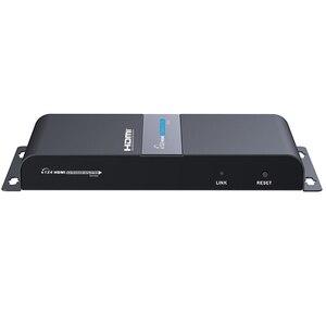 Image 3 - LKV714Pro hdmi utp スプリッタ 1X4 による hdmi エクステンダー cat5e/6 ケーブルで 40 メートルまで 4 hdmi レシーバ付属 + 1 hdmi ループアウト