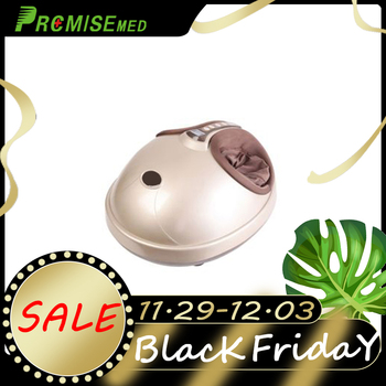 pr+mise Electric Heating  Shiatsu Foot Massager including Kneading Air Pressure Massage & Heating Therapy Relaxation
