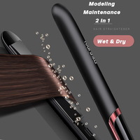 100-240V Professional Hair Straightener Curling Iron Electric Ceramic Flat Iron Hair Curler PTC Crimper Iron Hair Styling Tools 2