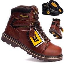 Высококачественные мужские походные ботинки; Сезон осень зима;