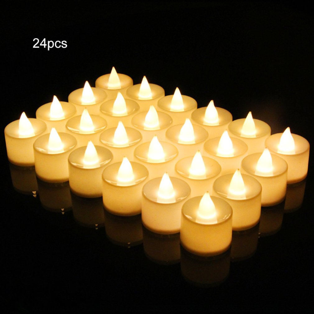 Electronic Candle Light Creative Marriage Confession Birthday Direct Romantic Candle Wholesale Confession Layout Propss